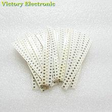 100% New SMD Resistance 500PCS/Set 0805 Resistor Kit 15K-220K 5% 25Kinds Wholesale Electronic Chip Resistors Combination set(China (Mainland))