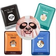Altnux 1 pcs Skin Care Sheep/Panda/Dog/Tiger Facial Mask Moisturizing Cute Animal Face Masks