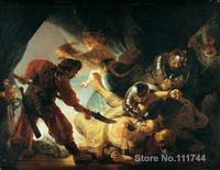 oil painting portrait The Blinding of Samson by Rembrandt van Rijn art for sale Hand painted High quality