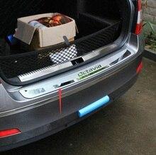 Для Skoda Octavia 2014 2015 2016 A7 Нержавеющей Стали Задний Багажник Бампер Протектор Задний Накладка Порога Задней Двери