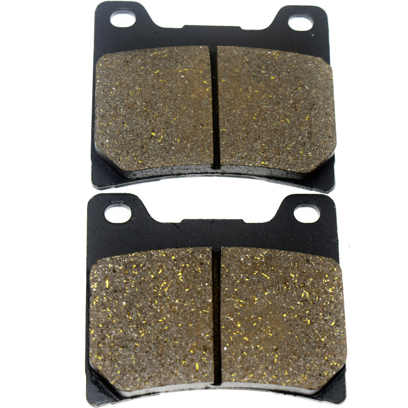 Motorcycle Rear Brake Pads For YAMAHA FZR1000 Genesis EX UP YZF 1000 R Thunderace BT 1100 Bulldog XV1100 Virago XVS1100 A P06 motorcycle front and rear brake pads for yamaha fzr 1000 fzr1000 genesis 1987 1989 brake disc pad