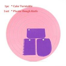 5,5 дюймов вращающийся стол для торта вращающаяся подставка для украшения торта платформа для торта Кондитерские инструменты для украшения торта печенья украшения для печенья