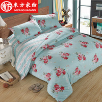 States And Cotton Wool Cotton Imitation Four Sets Of Four Sets Of Active Printing Bedding