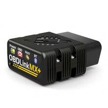 OBDLink MX PLUS Scanner de voiture, outil de balayage, pour iOS/Android/Kindle Fire ou Windows