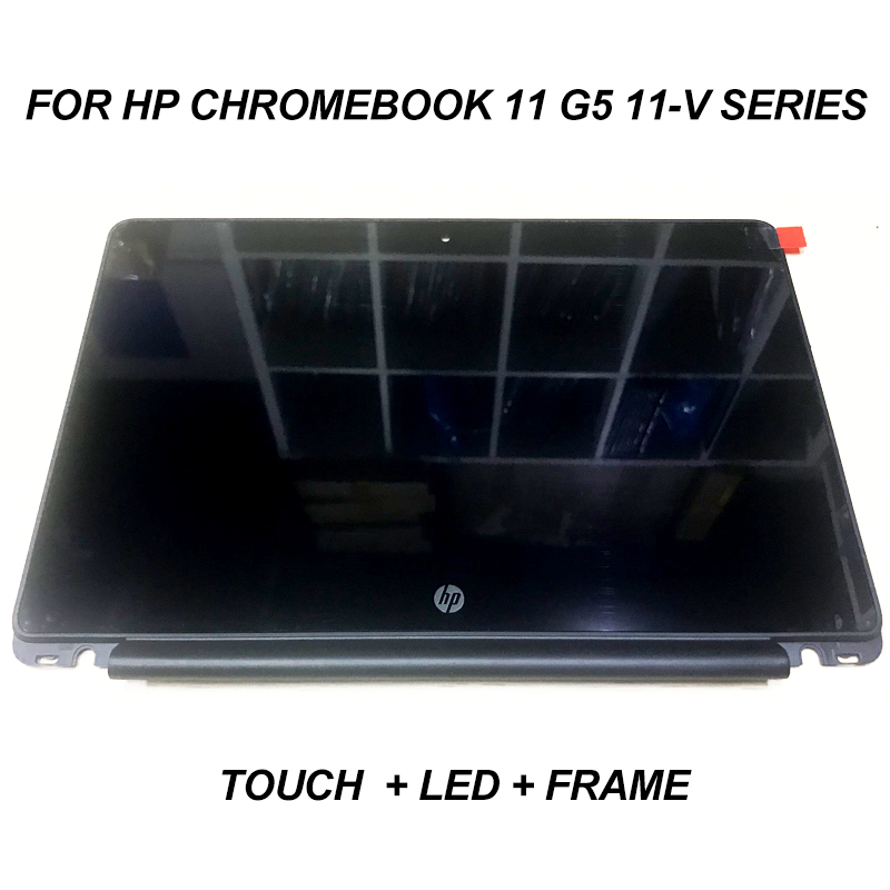 New Genuine for HP Chromebook 11 G5 11-V Series Touch LCD Screen Panel 906629-001replacement 11.6 inch LP116WH7 SPB2