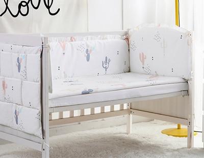 5PCS baby bedding baby crib bumper sheet breathable bumpers in the crib,baby crib bumper sheet,(4bumpers+sheet) простыни swaddledesigns простынь детская на резинке fitted crib sheet 140х70