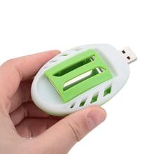 Лето насекомых USB комаров убийца электрический зеленый+ белый Электрический Отпугиватель Комаров Репеллент пластик борьбы с вредителями сна дома