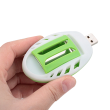 Summer Insect USB Mosquito Killer Electric Green+White Electric Mosquito Repeller Repellent Plastic Pest Control Sleep Home