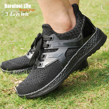 black man woman athletic sport running shoes breathable soft comfortable shoes outdoor walking shoes font b
