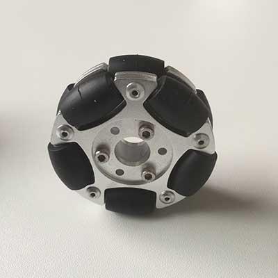 60mm dual-disc aluminum omni-wheel три поросенка 3d сказка