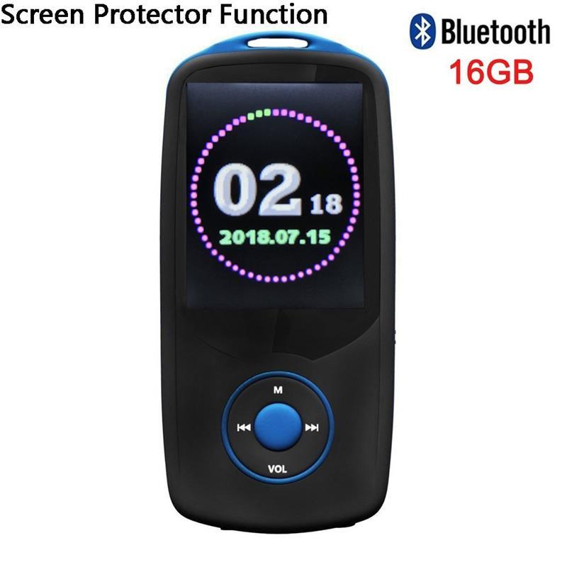 Stimme Recorder Hohe Qualität Walkman Trendmarkierung 2018 Aktualisiert Version Ruizu X06 Bluetooth Mp3 Musik-player Mit 1,8 bildschirm Unterstützung Fm Radio Mp3-player