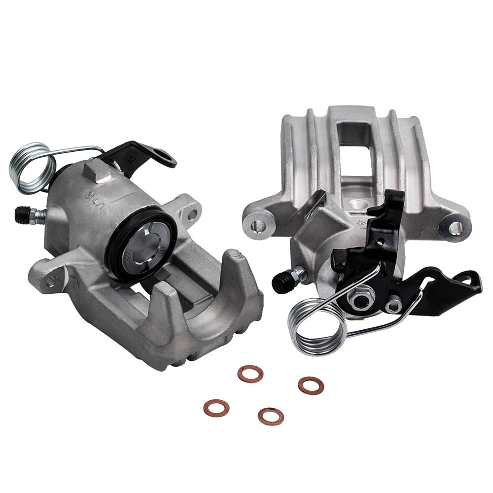 small resolution of 2pcs rear left right parking brake pump caliper assembly for tt a3 seat leon for vw bora golf iv 1 8 t 1j0615423b 1j0615424b aliexpress com imall com