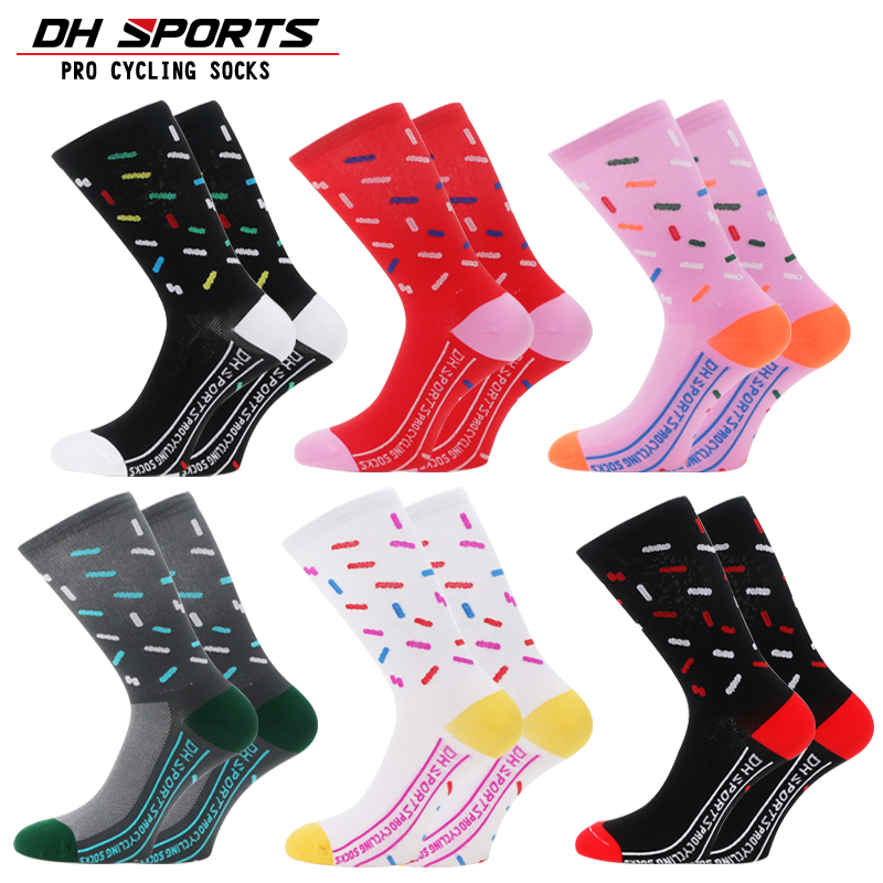 Professional Cycling Socks Men Women Outdoor Road Bicycle Breathable Calcetines Ciclismo Brand Running Compression Sport Socks