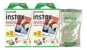 Image 3 - 50pcs feuilles Fujifilm Instax Mini Film pour Mini LiPlay 11 9 8 7s 25 70 90 appareil Photo instantané Mini lien Pinter blanc bord Photo papier