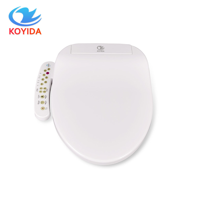 electric bidet seat adjustable warm water self cleaning washlet heated toilet seat led light