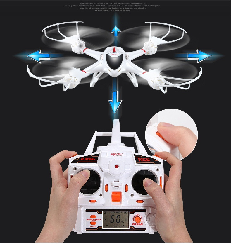 RC Helicopter Lynrc x400 MJX X400-V2 2.4G  quadcopter  rc helicopter 6-axis can add C4005 camera FPV Camera