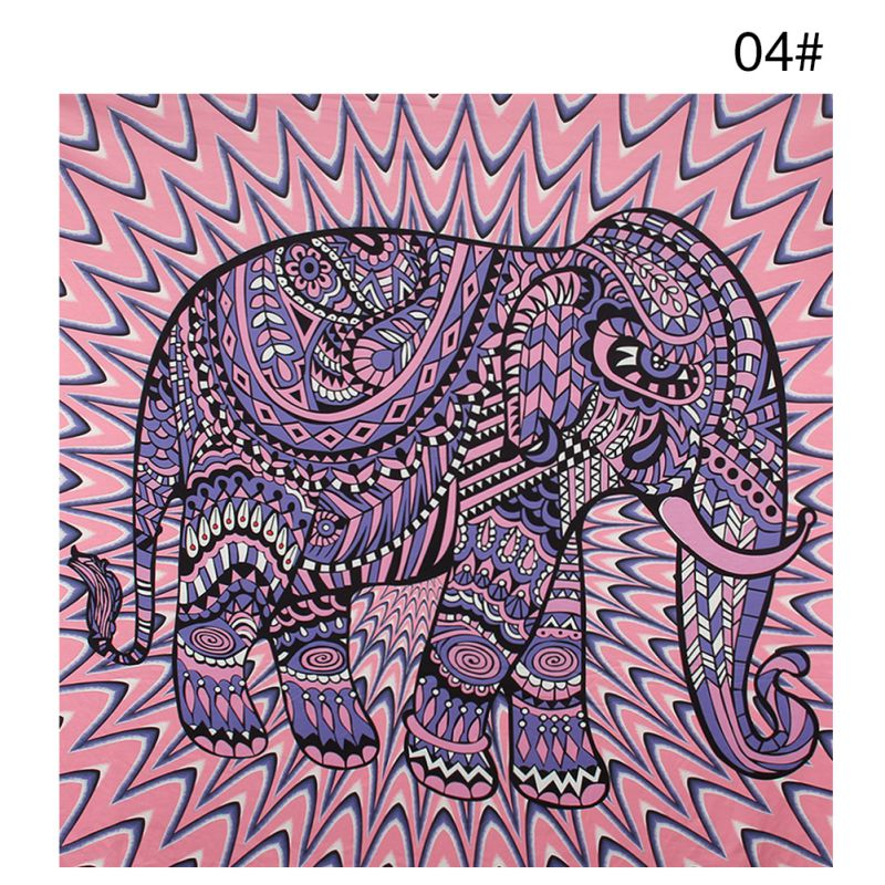 Elephant Tapestry Wall Hanging aliexpress : buy wall carpet elephant tapestry colored printed