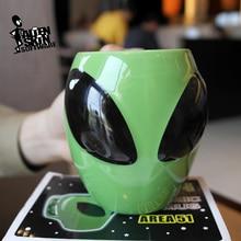 Keramik Alien Tassen Kaffeetasse Milch Saft Zitrone Bierkrug Kreative Tee Tassen Hause Morgen Tassen Drink Party Weihnachten Geschenke