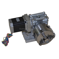 CNC гравер аксессуар ЧПУ транспортир NC индекс Электрический поворотный B Тип (50: 1) C00314
