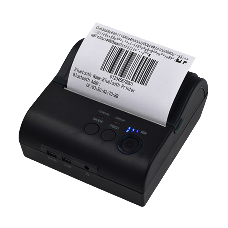 ZJiang 80mm Bluetooth Ticket Thermal Printer ZJ POS-8001DD Wireless Receipt Machine Support Android IOS Mobile Wireless Printer