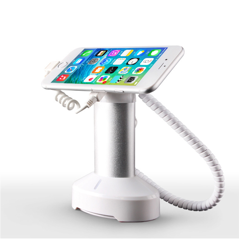 Mobile phone security stand holder alarm tablet anti theft device charging dock iphone secure sensors for retail shop exhibit 5 x mobile phone security stand tablet display alarm laptop burglar alarm ipad lock sensors holder retail pc anti theft device