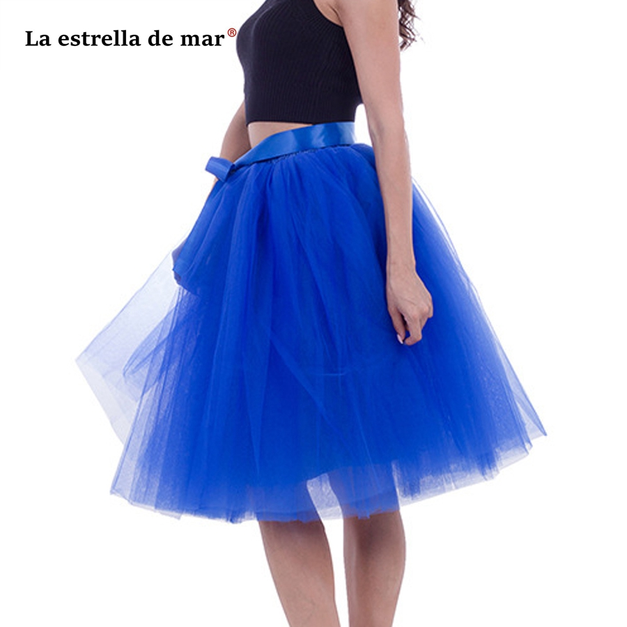 Sensible La Estrella De Mar Stock Coral 7layer 65cm Fluffy Tulle Dress Short Enaguas Para El Vestido De Boda Cheap Puticoat Chills And Pains Wedding Accessories Petticoats