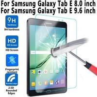 واقي للشاشة من الزجاج المقسى لهاتف Samung Galaxy Tab E 8.0 T375 T377 T377R T377P T377W T378 لهاتف Galaxy Tab E 9.6 T560 T561 T562