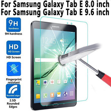 Tempered Glass For Samung Galaxy Tab E 8.0 T375 T377 T377R T377P T377W Screen Protector for Samung Galaxy Tab E 9.6 T560 T561(China)