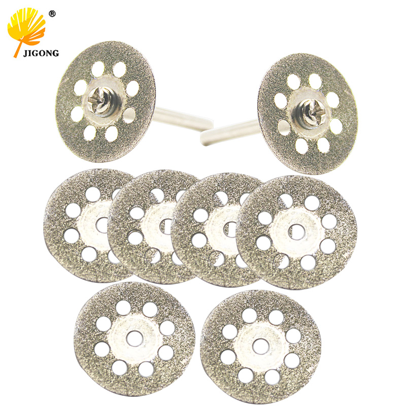 20mm 25mm 30mm Dremel Accessories Diamond Grinding Wheel 10pcs Mini Circular Saw Cutting Disc Diamond Abrasive Disc