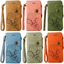 Luxury Leather Flip Wallet 3D Rose Soft Phone Silicone Case Cover Shell Coque Fundas for SONY Xperia Z5 L1 X XA1 XZ XZ1 Compact case for sony xperia l1 x xa ultra case wallet leather cover for sony xperia xz xr xz1 xz premium compact business style case