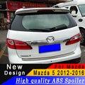 Для Mazda 5 спойлер Высокое качество ABS Материал заднее крыло для Mazda 5 2012 до 2016 спойлер праймер или любой цвет задний спойлер