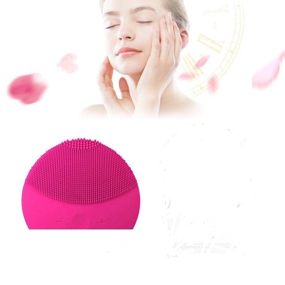 Mini2 T-sonic Silikon Reinigung Gerät Mitesser Akne Entfernung Wiederaufladbare Elektrische Gesichts Reiniger Schönheit Instrument Heißer Verkauf
