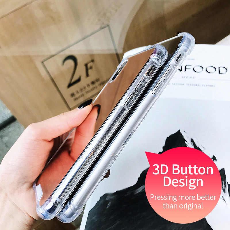 YBD Hard Mirror Case for Huawei P20 Lite P30 P10 lite P Smart 2019 Protective Case for Huawei Mate 10 20 Lite Cover Funda Coque