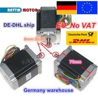 【EU ship/free VAT】 3PCS NEMA23 stepper motor 76mm/270Oz in/ 3A 1.8Nm CNC stepping motor for CNC Router machine 3D printer