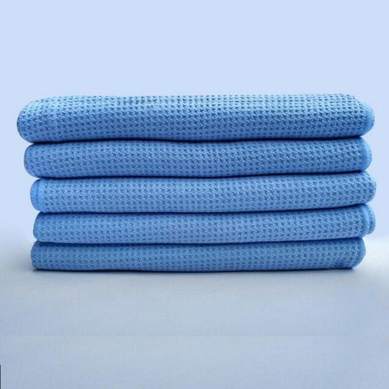 Полотенце для сушки с вафельным плетением, из микрофибры, с водным магнитом, для автомобиля, ванны, кухни и собак, 23,6