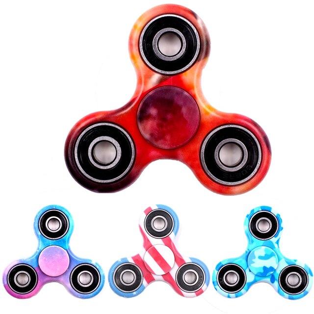 Горячая Три-Spinner Непоседа Игрушки ABS Стресс Колеса EDC Анти Стресс Руку Spinner Для Аутизма и антистресс Многоцветный 11 стиль, spiner , спиннер and спинер , спинеры антистресс для рук