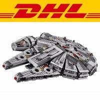 1381pcs Millennium Falcon Star Wars Model Building Blocks Toys For Force Awaken Legoing Starwars Chewbacca 10467