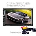 7021B 7 Inch LCD HD Двойной Дин В Тире Сенсорный Экран Bluetooth Стерео FM MP3 MP5 Плеер с Радио Беспроводной Пульт Дистанционного Управления