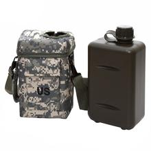 2L PVC Portable Outdoor Sport Military Water Bottle Camping
