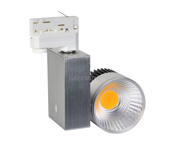 120lM/W Non Dimmable CRI >85 10W LED Track Light 2/3/4 wire available Clothing Store Lighting Ceiling Spot LED AC100-277V 2 5 3w 300lm 4500k 3 led warm white light ceiling lamp w led driver silver 85 277v