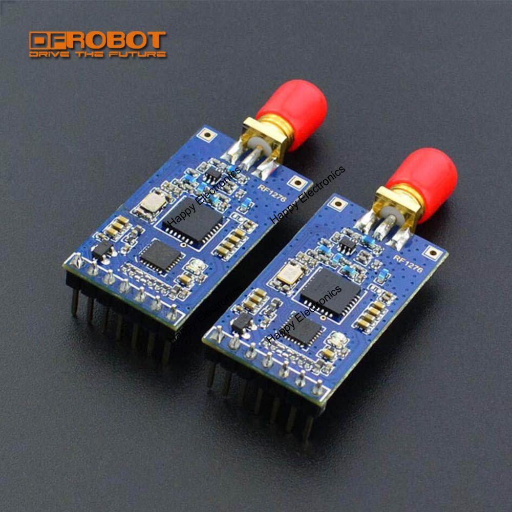 DFRobot LoRa MESH MANET Radio RF Module 3 3 5 0V 868MHz TTL serial 9600bps supports