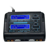 HTRC C240 DUO AC 150W DC 240W 10Ax2 Dual Channel RC LiPo Battery Balance Charger Free Shipping