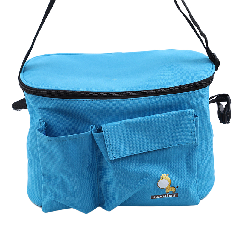 Diaper-Bags Insulation Baby Waterproof for Strollers Mom