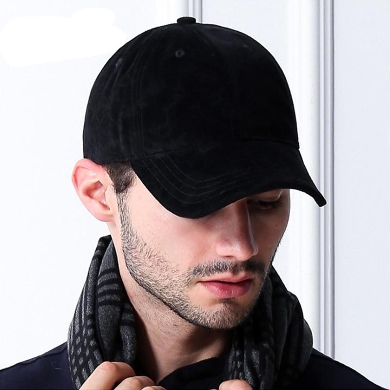 [AETRENDS] Marca de lujo de algodón de terciopelo gorras de béisbol - Accesorios para la ropa - foto 3