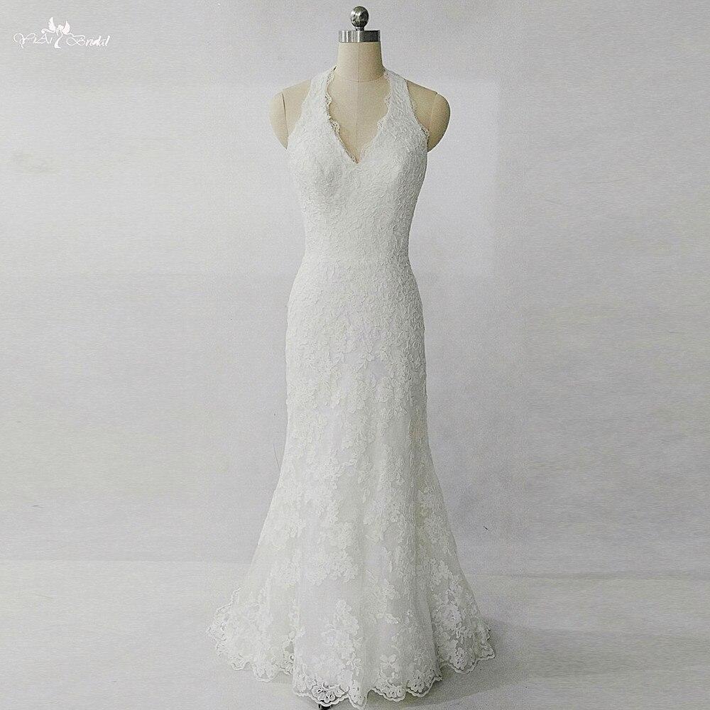 219efffd042 Buy halter neckline wedding dresses and get free shipping on AliExpress.com