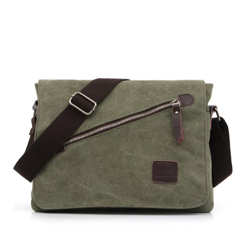 men's travel bags cool Canvas bag fashion men messenger bags high quality brand bolsa feminina shoulder bags    LJ-893 aosbos fashion portable insulated canvas lunch bag thermal food picnic lunch bags for women kids men cooler lunch box bag tote