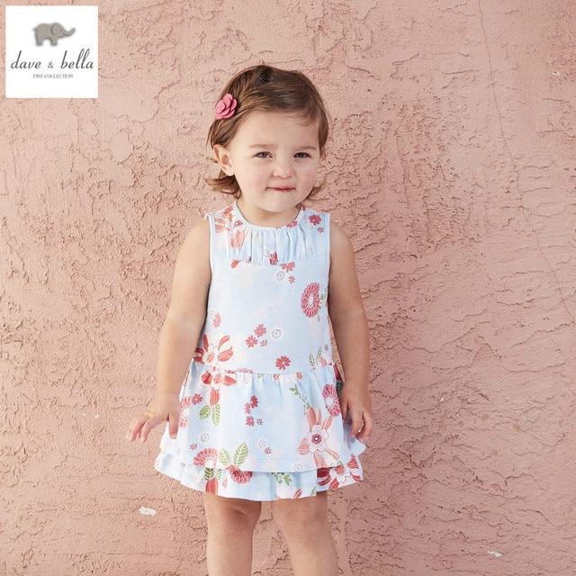 1fc16331e00 DB4489 dave bella summer baby girls princess dress childs flowers dress kids  toddle dress children dress