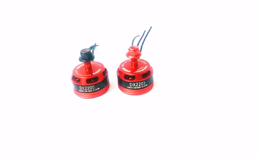 New Arrival 4pcs //lot 2205 <font><b>BR2205</b></font> 2300KV 2-4S Brushless Motor 2 CW & 2 CCW For QAV250 ZMR250 260 Multirotor image