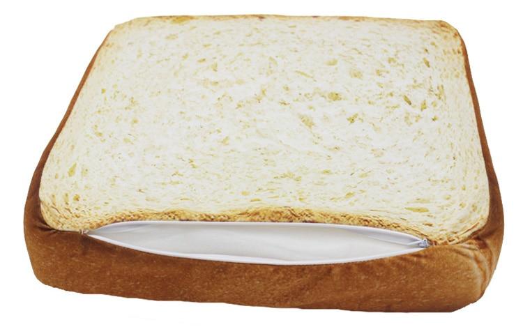 Bread Toast Design Cat Bed Soft Mat Cushion
