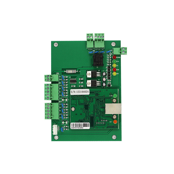 TCP/IP access control board one door two sides access control system with 2pcs card reader and 1 USB card reader free software